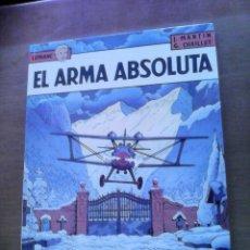 Cómics: LEFRANC. GRIJALBO. EL ARMA ABSOLUTA.. Lote 87154580