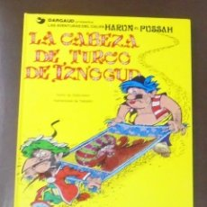 Cómics: LA CABEZA DE TURCO DE IZNOGUD. LAS AVENTURAS DEL CALIFA HARUN EL PUSSAH. Nº 6. EDICIONES JUNIOR.. Lote 87693688