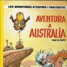 Cómics: LES AVENTURES D´ESPIRÚ I FANTÂSTIC 20: AVENTURA A AUSTRALIA, 1989, MUY BUEN ESTADO. Lote 187152415