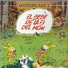 Cómics: MARSUPILAMI 2: EL BEBÈ DE LA FI DEL MÖN, 1988, PRIMERA EDICIÓN, IMPECABLE. Lote 88085712