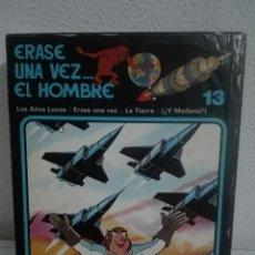 Cómics: ERASE UNA VEZ EL HOMBRE EDICIONES JUNIOR GRIJALBO COMPLETA CON ESTUCHE 13. Lote 88137628