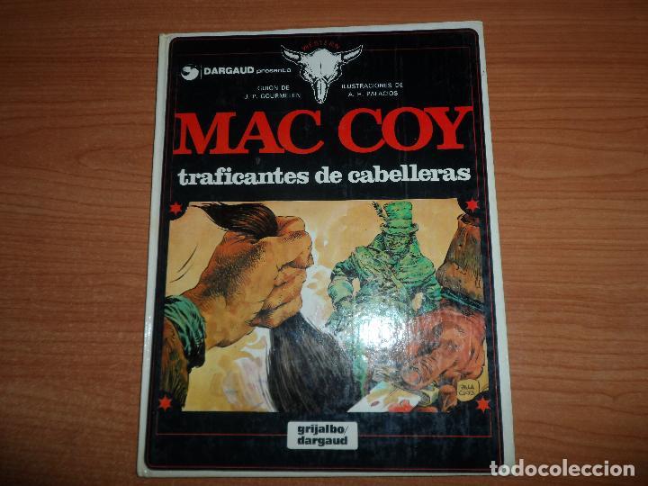 MAC COY Nº 7 TRAFICANTES DE CABELLERAS EDITORIAL GRIJALBO TAPA DURA (Tebeos y Comics - Grijalbo - Mac Coy)