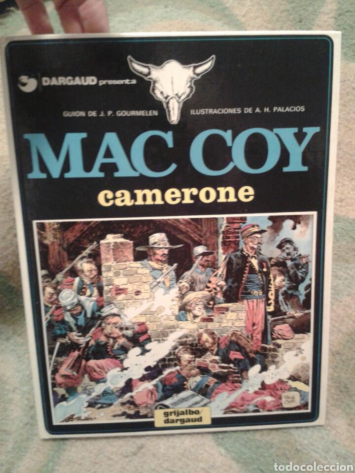 MAC COY Nº 11- CAMERONE - GRIJALBO DARGAUD (Tebeos y Comics - Grijalbo - Mac Coy)