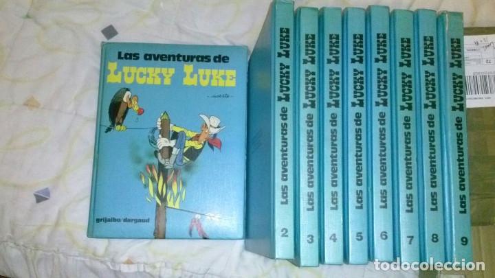 LAS AVENTURAS DE LUCKY LUKE NºS 1 AL 9 (Tebeos y Comics - Grijalbo - Lucky Luke)