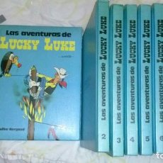 Cómics: LAS AVENTURAS DE LUCKY LUKE NºS 1 AL 9. Lote 89032488