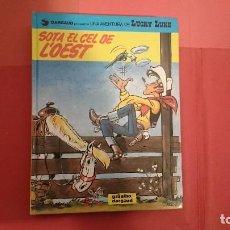 Cómics: LUCKY LUKE SOTA EL CEL DE O'EST Nº 52 . Lote 89048648