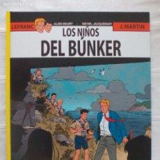 Fumetti: LEFRANC NETCOM2 Nº 22 LOS NIÑOS DEL BUNKER. Lote 89408084