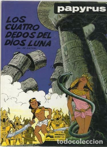PAPYRUS 6: LOS CUATRO DEDOS DEL DIOS LUNA, 1989, MUY BUEN ESTADO (Tebeos y Comics - Grijalbo - Papyrus)