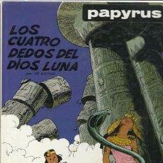 Cómics: PAPYRUS 6: LOS CUATRO DEDOS DEL DIOS LUNA, 1989, MUY BUEN ESTADO. Lote 89440144