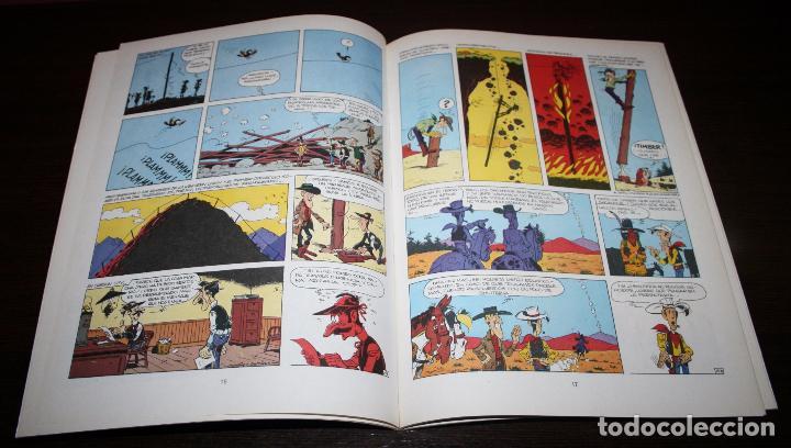 Cómics: LUCKY LUKE - EL HILO QUE CANTA - MORRIS/GOSCINNY - GRIJALBO/DARGAUD - 1985 - Foto 4 - 89464960