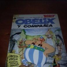 Cómics: UNA AVENTURA DE ASTÉRIX. OBELIX Y COMPAÑIA.EST18B6. Lote 89469772