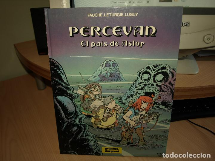 PERCEVAN - Nº 4 - EL PAIS DE ASLOP - TAPA DURA - GRIJALBO (Tebeos y Comics - Grijalbo - Percevan)