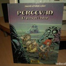 Comics : PERCEVAN - Nº 4 - EL PAIS DE ASLOP - TAPA DURA - GRIJALBO. Lote 183700661