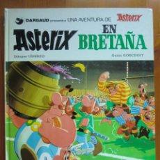 Cómics: COMIC ASTERIX EN BRETAÑA (1.979) DE UDERZO Y GOSCINNY. EDITORIAL GRIJALBO. BUEN ESTADO.. Lote 89681200