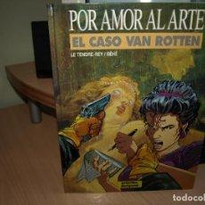 Cómics: POR AMOR AL ARTE NÚMERO 1 - EL CASO VAN ROTTEN - TAPA DURA - GRIJALBO. Lote 89692228