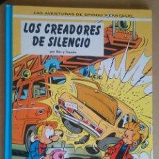 Cómics: SPIROU Y FANTASIO 45 - LOS CREADORES DE SILENCIO - NIC Y CAUVIN - JUNIOR - GRIJALBO. Lote 89804444