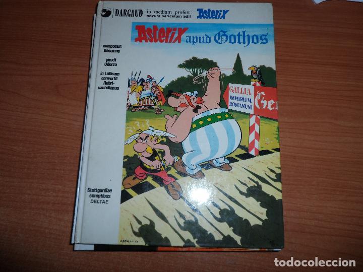 ASTERIX APUD GOTHOS. ASTERIX Y LOS GODOS, EN LATÍN. AUT. GOSCINNY Y UDERZO. ED. DARGAUD AÑO 1978 (Tebeos y Comics - Grijalbo - Asterix)
