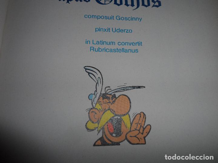 Cómics: ASTERIX APUD GOTHOS. ASTERIX Y LOS GODOS, EN LATÍN. AUT. GOSCINNY Y UDERZO. ED. DARGAUD AÑO 1978 - Foto 2 - 89848020