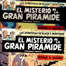 Cómics: EDGAR JACOBS : EL MISTERIO DE LA GRAN PIRÁMIDE I Y II (JUNIOR, 1983). Lote 90083360