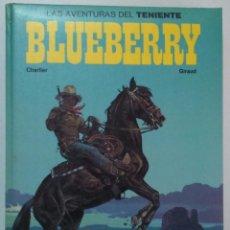 Cómics: LAS AVENTURAS DEL TENIENTE BLUEBERRY TOMO 1 GRIJALBO/DARGAUD 1982 TAPAS DURAS ACOLCHADA 204 PÁGINAS. Lote 90220440