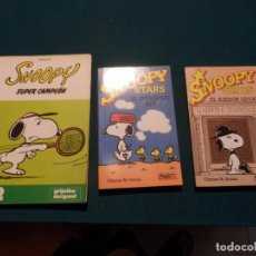 Cómics: SNOOPY STARS - Nº 4 + 5 + SNOOPY - SUPER CAMPEÓN - LOTE 3 COMICS DE CHARLES M. SCHULZ (PEANUTS). Lote 90291012