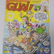 Cómics: TEBEO. GUAI. PUBLICACION SEMANAL. Nº 15. EDICIONES JUNIOR. PERFECTO ESTADO. Lote 90406834