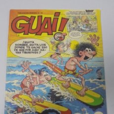Cómics: TEBEO. GUAI. PUBLICACION SEMANAL. Nº 18. EDICIONES JUNIOR. PERFECTO ESTADO. Lote 90407084