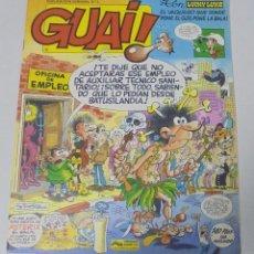 Cómics: TEBEO. GUAI. PUBLICACION SEMANAL. Nº 2. EDICIONES JUNIOR. PERFECTO ESTADO. Lote 90407189
