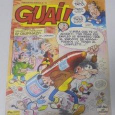 Cómics: TEBEO. GUAI. PUBLICACION SEMANAL. Nº 11. EDICIONES JUNIOR. PERFECTO ESTADO. Lote 90407314