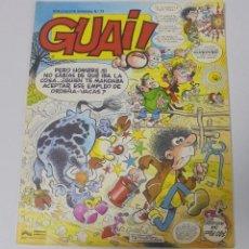 Cómics: TEBEO. GUAI. PUBLICACION SEMANAL. Nº 13. EDICIONES JUNIOR. PERFECTO ESTADO. Lote 90407379