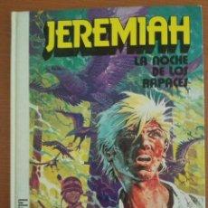 Cómics: JEREMIAH 1 LA NOCHE DE LOS RAPACES. HERMANN. EDICIONES JUNIOR GIRALBO 1980. Lote 90648120