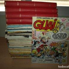 Cómics: LOTE DE 152 COMIC DE GUAI - VER NÚMEROS QUE FALTAN - . EDICIONES JUNIOR. Lote 91010530