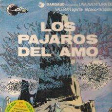 Cómics: VALERIAN. Nº 4. LOS PÁJAROS DEL AMO. JUNIOR / GRIJALBO. 1979 ( Z/11). Lote 91273780