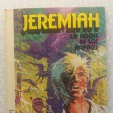 Cómics: COMIC JEREMIAH Nº 1 LA NOCHE DE LOS RAPACES EDITORIALGRIJALBO. Lote 91286600