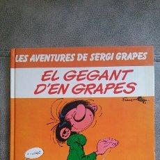 Cómics: LES AVENTURES DE SERGI GRAPES. EL GEGANT D'EN GRAPES. EDICIONES JUNIOR. 1972. Lote 91360435