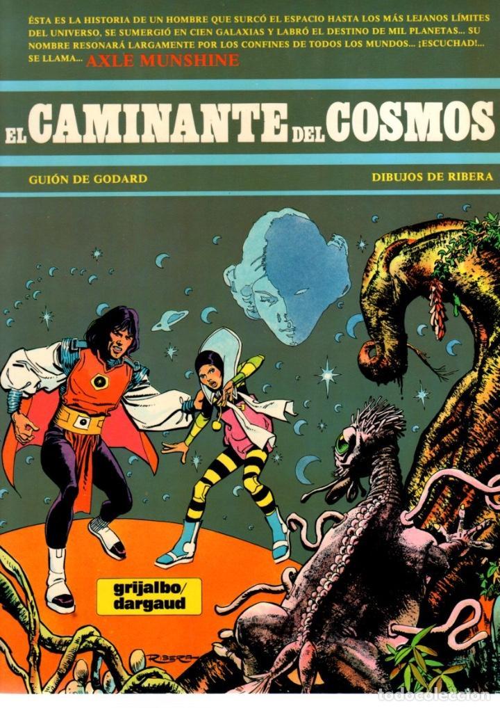 EL CAMINANTE DEL COSMOS. GUION DE GODARD. DIBUJOS DE RIBERA. Nº 1. AÑO 1984 (Tebeos y Comics - Grijalbo - Otros)