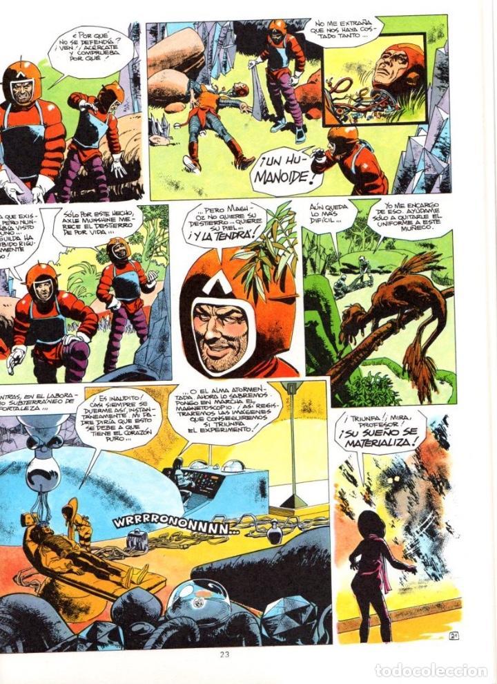 Cómics: EL CAMINANTE DEL COSMOS. GUION DE GODARD. DIBUJOS DE RIBERA. Nº 1. AÑO 1984 - Foto 2 - 91812285