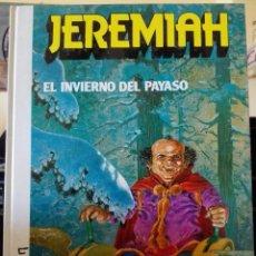 Cómics: JEREMIAH 9 EL INVIERNO DEL PAYASO. EDICIONES JUNIR GRIJALBO. PERFECTO ESTADO. Lote 91879670