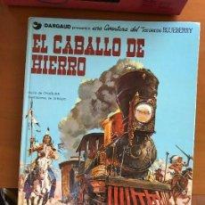 Cómics: BLUEBERRY EL CABALLO DE HIERRO Nº 3. Lote 91949055