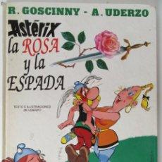 Cómics: ASTERIX LA ROSA Y LA ESPADA - GRIJALBO - TAPA DURA . Lote 92092180