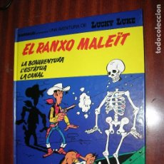 Cómics: F1 LUCKY LUKE EL RANXO MALEIT EN CATALAN EN PERFECTO ESTADO. Lote 92149090