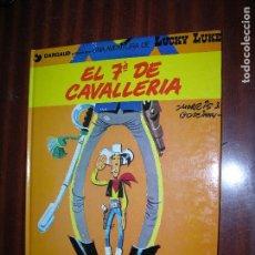 Cómics: F1 LUCKY LUKE EL 7 DE CAVALLERIA EN CATALAN EN PERFECTO ESTADO. Lote 92149760