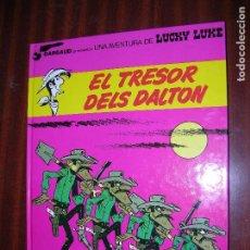 Cómics: F1 LUCKY LUKE EL TRESOR DELS DALTON EN CATALAN EN PERFECTO ESTADO. Lote 92150200