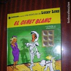 Cómics: F1 LUCKY LUKE EL GENET BLANC EN CATALAN EN PERFECTO ESTADO. Lote 92150310