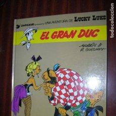 Cómics: F1 LUCKY LUKE EL GRAN DUC EN CATALAN EN PERFECTO ESTADO. Lote 92150445