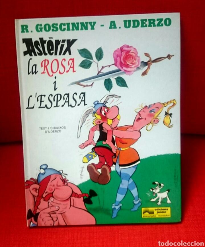 ASTERIX - LA ROSA I L'ESPASA CATALÀ (Tebeos y Comics - Grijalbo - Asterix)