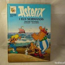 Cómics: ASTERIX I ELS NORMANDS EN CATALAN DE GRIJALBO DARGAUD TAPA DURA. Lote 92700900