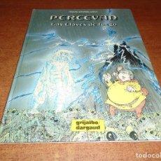 Cómics: PERCEVAN Nº 7 LAS LLAVES DE FUEGO, GRIJALBO 1988 TAPA DURA. Lote 92822720