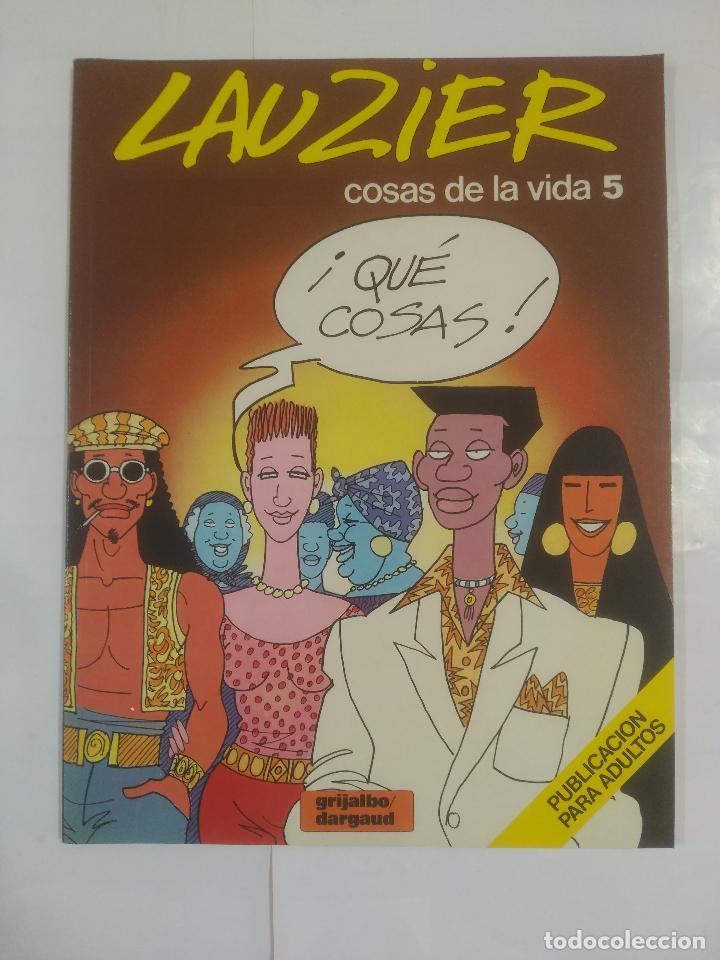 LAUZIER Nº 5. COSAS DE LA VIDA. GRIJALBO / DARGAUD. TDKC24 (Tebeos y Comics - Grijalbo - Otros)