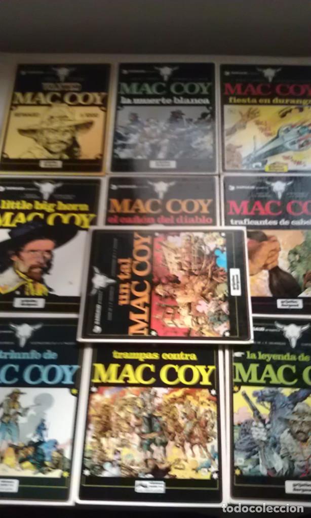 MAC COY - LOTE 10 PRIMEROS NUMEROS (Tebeos y Comics - Grijalbo - Mac Coy)